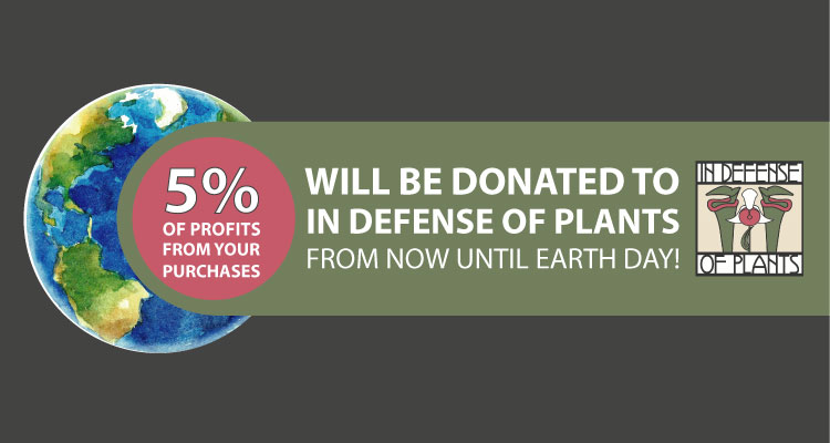EARTH DAY 2021: WE ARE PROUD TO SUPPORT IN DEFENSE OF PLANTS